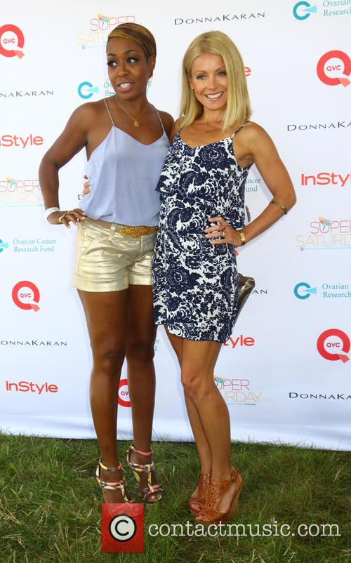 Estelle and Kelly Ripa 1
