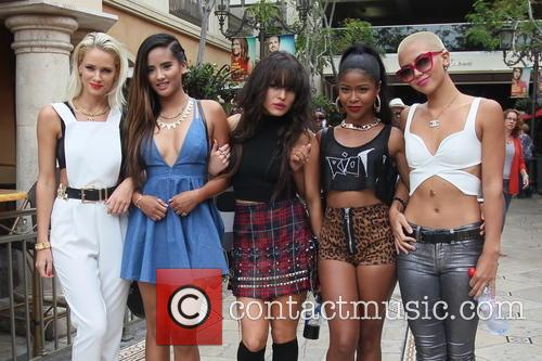 Girl group G.R.L at The Grove