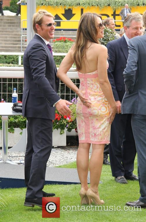 elizabeth hurley shane warne the king george vi 3783892