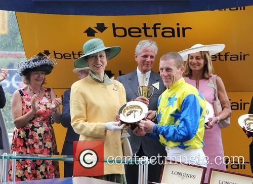 Princess Anne and Johnny Murtagh 2