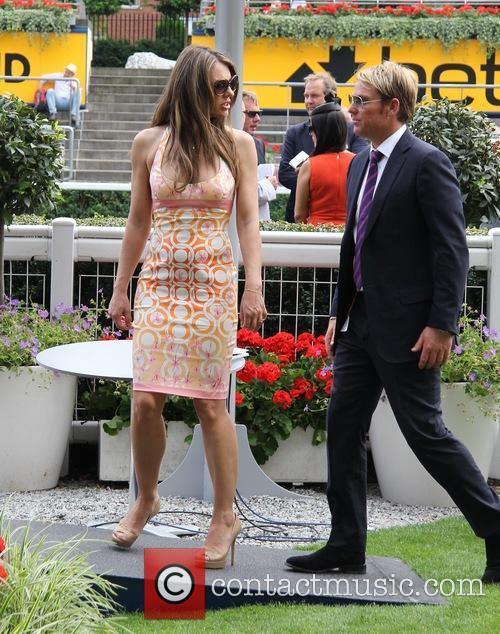 Elizabeth Hurley and Shane Warne 25