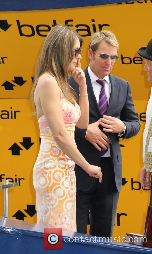 Elizabeth Hurley and Shane Warne 26