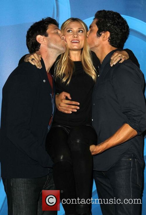 Pablo Schreiber, Spencer Grammer and Neal Bledsoe 1