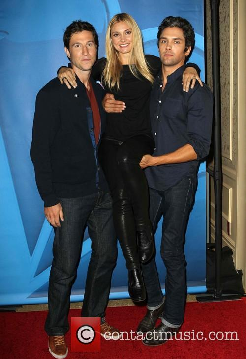 Pablo Schreiber, Spencer Grammer and Neal Bledsoe 6