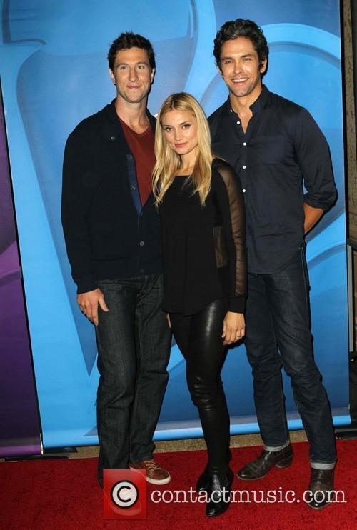 Pablo Schreiber, Spencer Grammer and Neal Bledsoe 7
