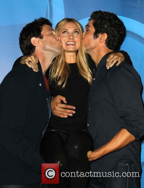 Pablo Schreiber, Spencer Grammer and Neal Bledsoe 11