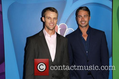 Jesse Spencer and Taylor Kinney 2