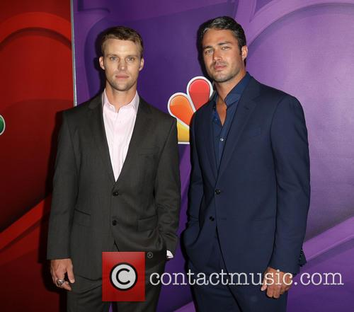 Jesse Spencer and Taylor Kinney 11