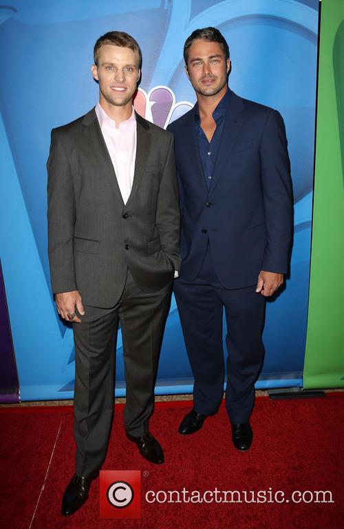 Jesse Spencer and Taylor Kinney 7