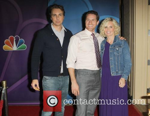 Dax Shepard, Sam Jaeger and Monica Potter 3