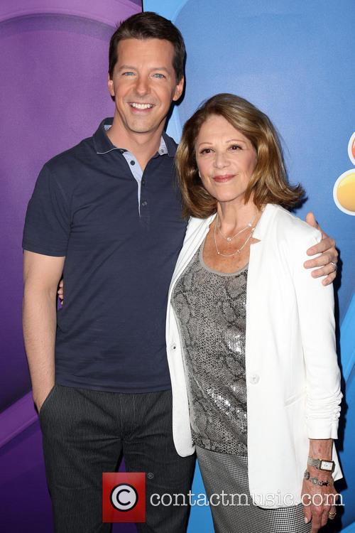 Sean Hayes and Linda Lavin 9