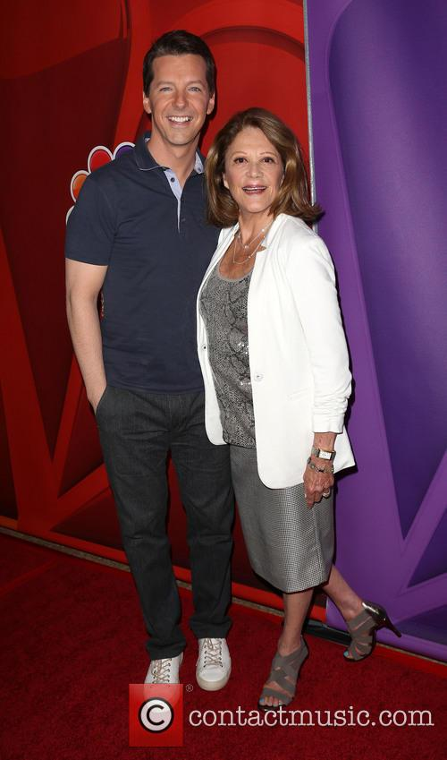 Sean Hayes and Linda Lavin 10