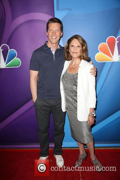 Sean Hayes and Linda Lavin 11