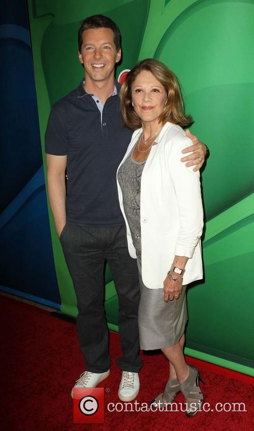 Sean Hayes and Linda Lavin 2