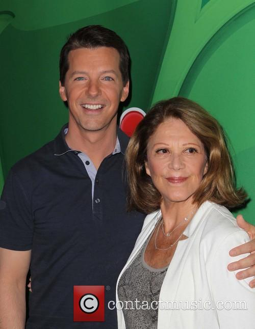 Sean Hayes and Linda Lavin 5