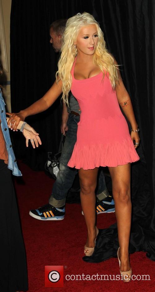 Christina Aguilera, Beverly Hilton Hotel