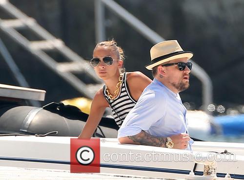 Joel Madden and Nicole Richie 2