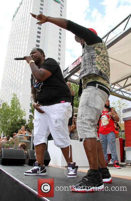 Sean Kingston performs at 'Ditch Saturdays'