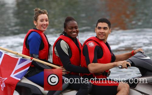 Jade Jones, Nicola Adams and Louis Smith 3
