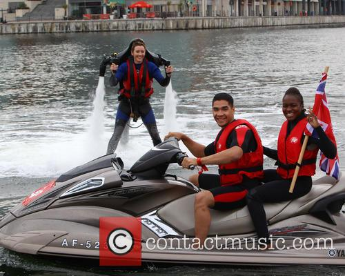 Jade Jones, Nicola Adams and Louis Smith 9
