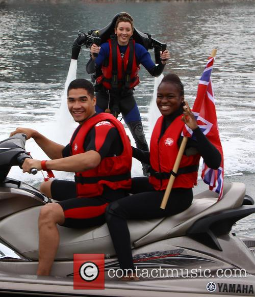 Jade Jones, Nicola Adams and Louis Smith 11