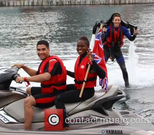 Jade Jones, Nicola Adams and Louis Smith 16