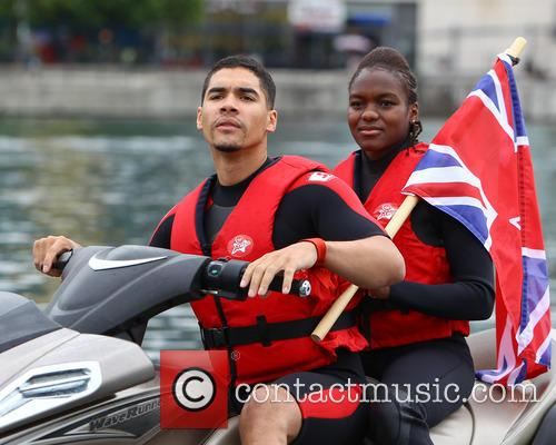 Nicola Adams and Louis Smith 7