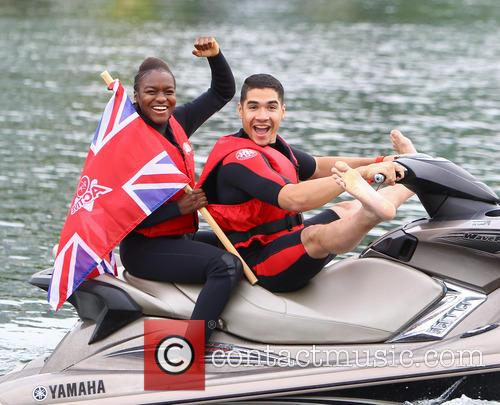 Nicola Adams and Louis Smith 1