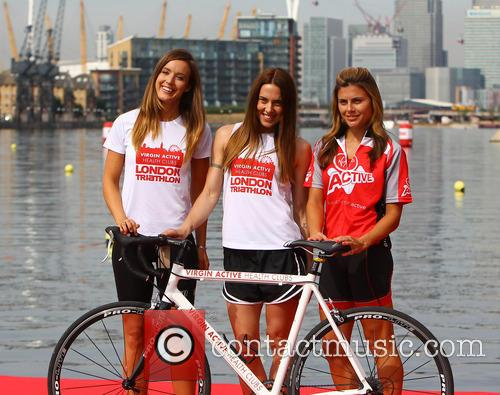 Charlie Webster, Melanie Chisholm and Zoe Hardman 2