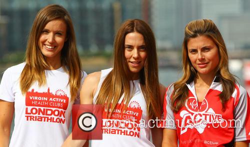 Charlie Webster, Melanie Chisholm and Zoe Hardman 3