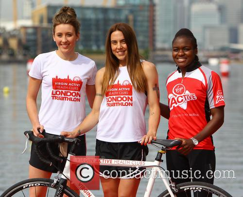 Jade Jones, Nicola Adams and Melanie Chisholm 1