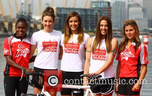 Jade Jones, Nicola Adams, Melanie Chisholm, Charlie Webster and Zoe Hardman 3