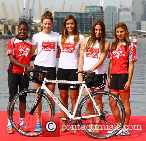 Jade Jones, Nicola Adams, Melanie Chisholm, Charlie Webster and Zoe Hardman 6