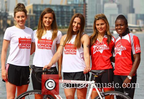Jade Jones, Nicola Adams, Melanie Chisholm, Charlie Webster and Zoe Hardman 13