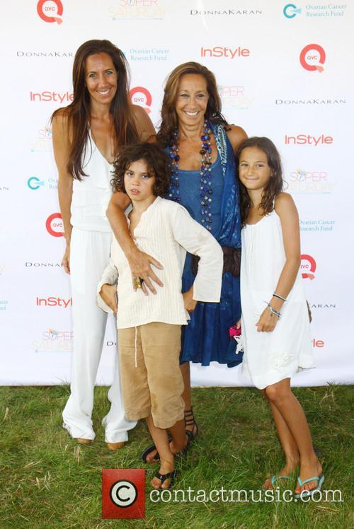Donna Karan, Gabby and Grandkids 1