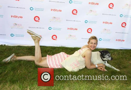 Kelly Rutherford and Dog Oliver 3