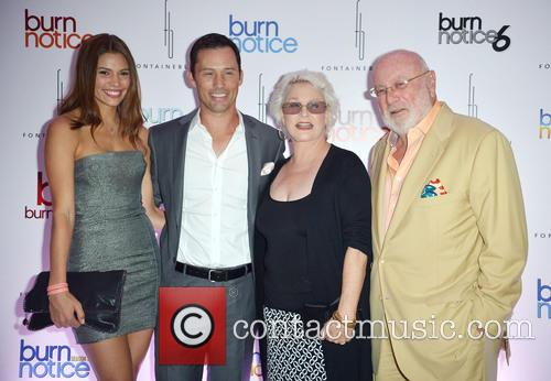 'Burn Notice' Wrap party