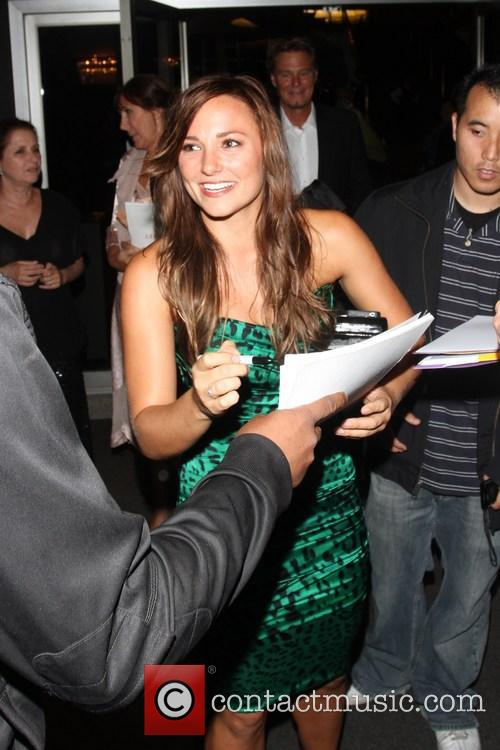 Briana Evigan, Dorothy Chandler Pavalion