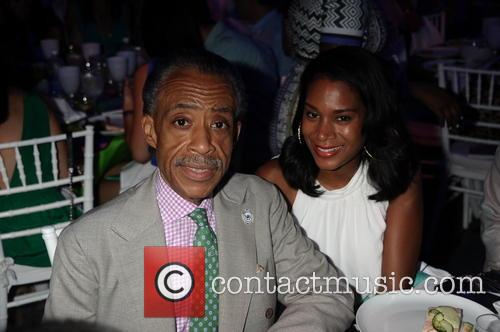 Reverend Al Sharpton and Aisha Mcshaw 5