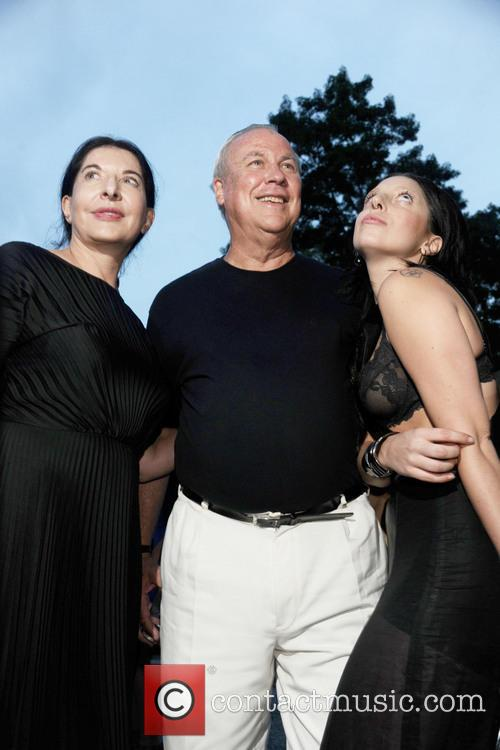 Robert Wilson, Lady Gaga and Marina Abramovic 3