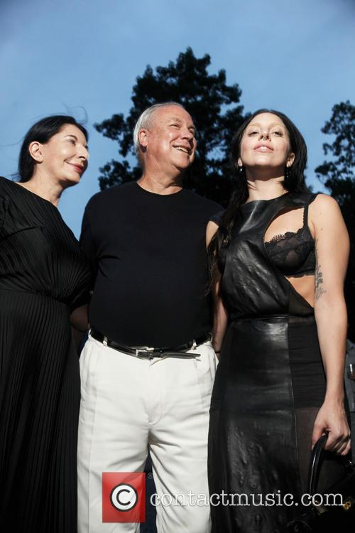 Robert Wilson, Lady Gaga and Marina Abramovic 4
