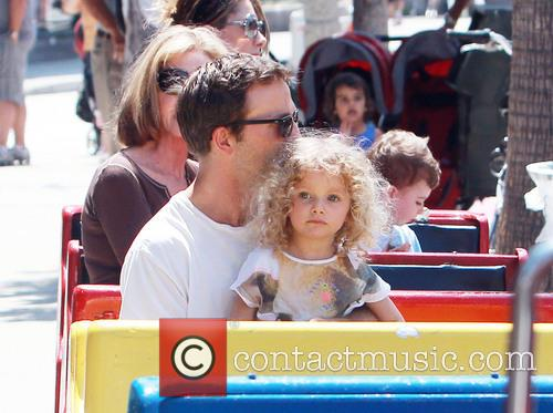 Breckin Meyer and daughter Caitlin