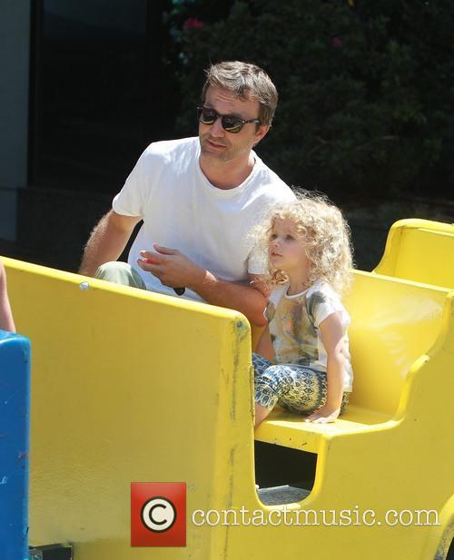 Breckin Meyer and Caitlin Willow Meyer 3