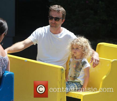 Breckin Meyer and Caitlin Willow Meyer 9