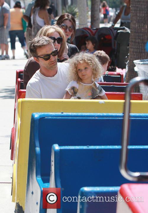 Breckin Meyer and Caitlin Willow Meyer 11