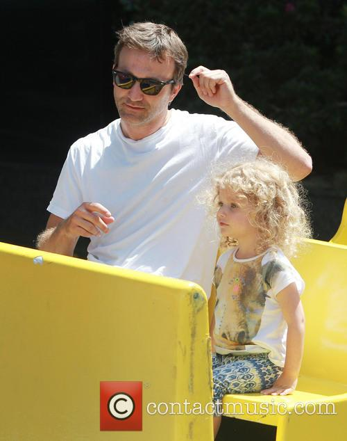 Breckin Meyer and Caitlin Willow Meyer 16
