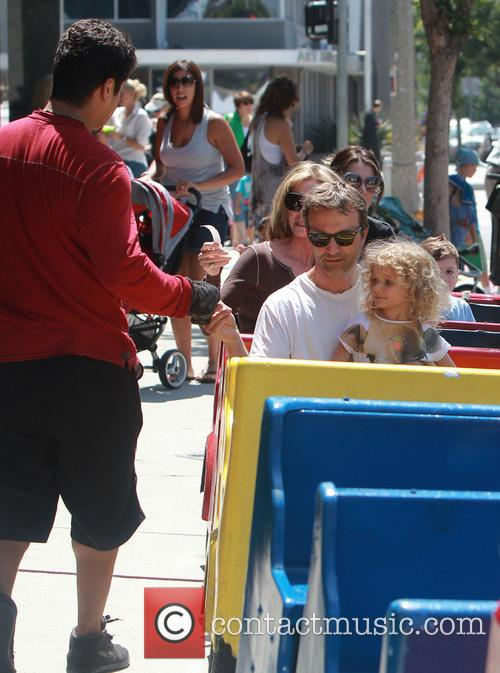 Breckin Meyer and Caitlin Willow Meyer 19