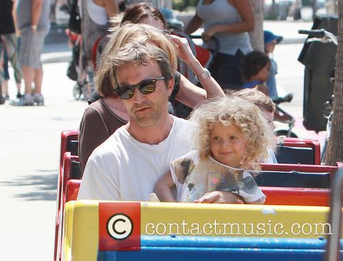 Breckin Meyer and Caitlin Willow Meyer 1