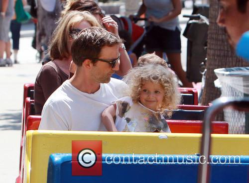 Breckin Meyer and Caitlin Willow Meyer 21