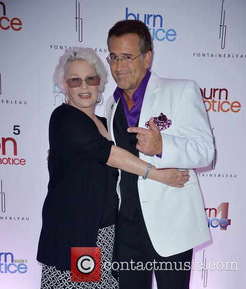 Sharon Gless and Bruce Campbell 1